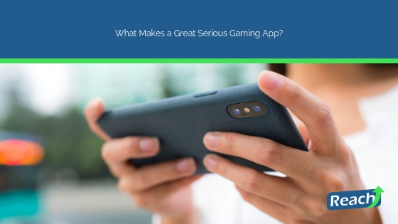 What Makes a Great Serious Gaming App?
